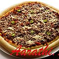 Spicy pizza bolognaise