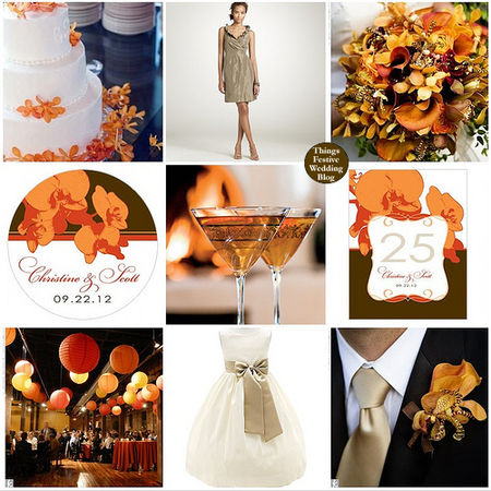 beach_20wedding_20theme_20in_20orange_20taupe_20brown