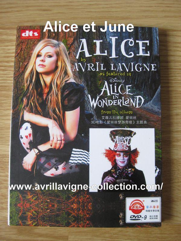 DVD Alice by Avril Lavigne-Asie (2010)