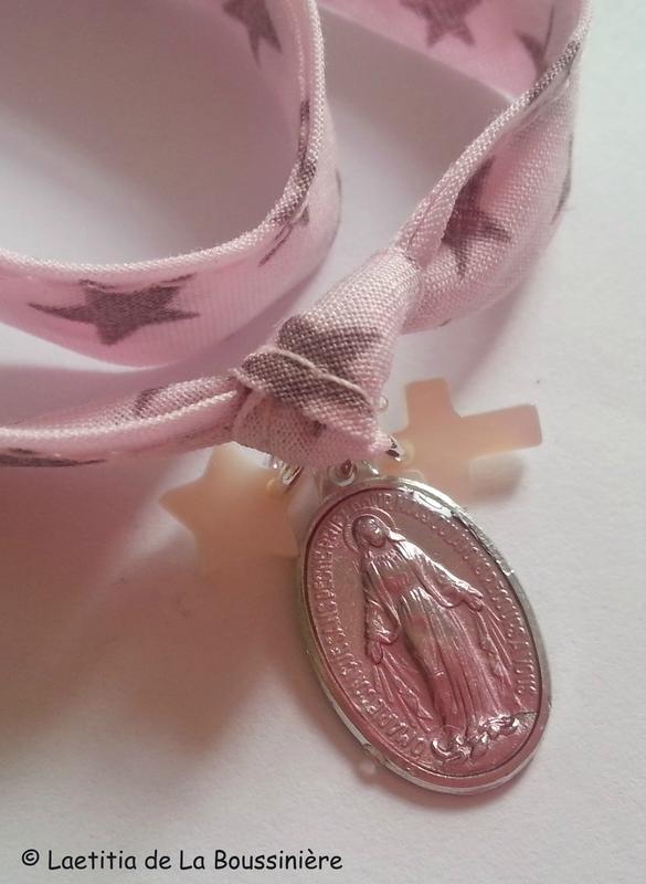 Bracelet Notre-Dame du Rosaire (détails)