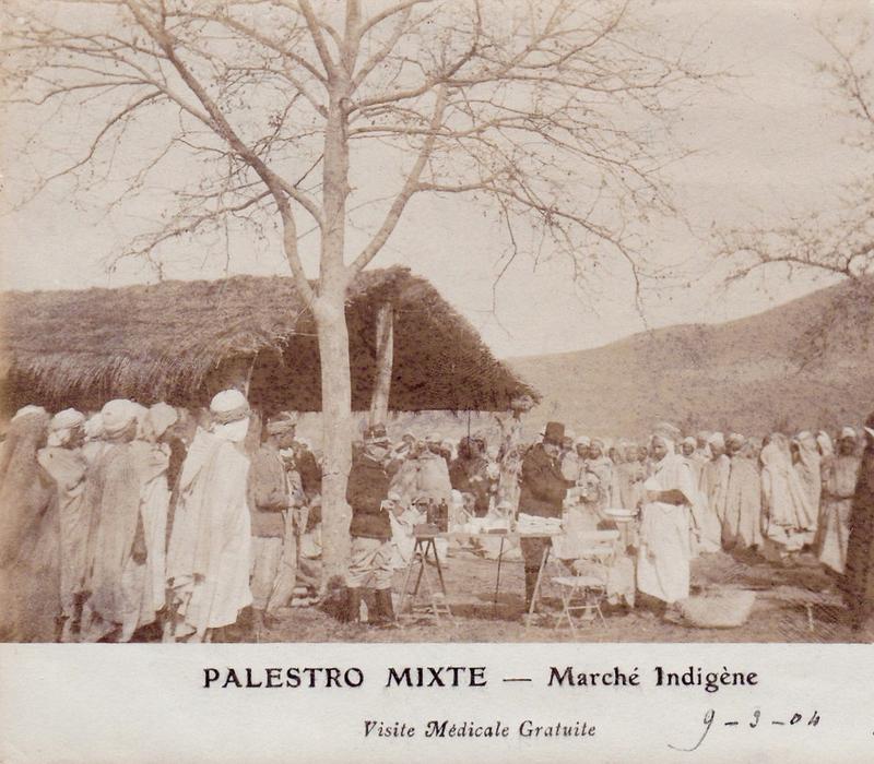 Palstro, marché indigène, 1904