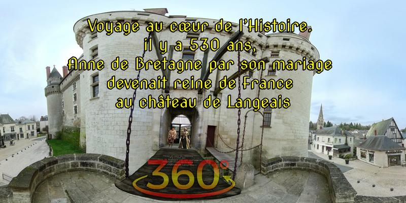 Voyage au cœur de l'Histoire. il y a 530 ans, Anne de Bretagne par son mariage devenait reine de France au château de Langeais
