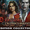 jeu d'objets cachés, dracula - l'alliance maudite edition collector