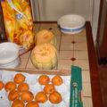 Confiture abricot melon