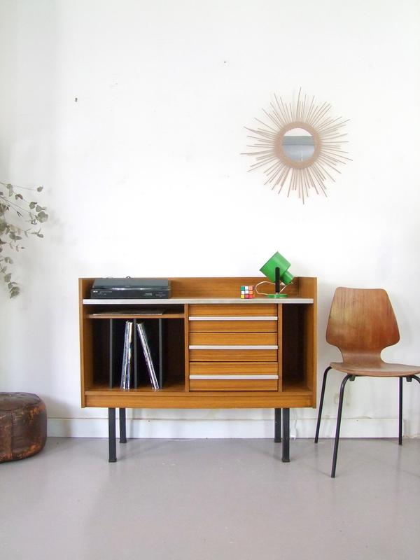 Enfilade meuble hifi vitage