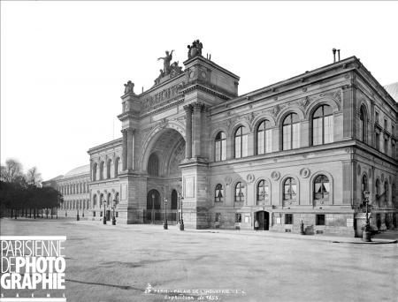 Exposition universelle 1855 Palais de l'Industrie