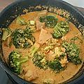 Sauté de porc au curry et aux brocolis