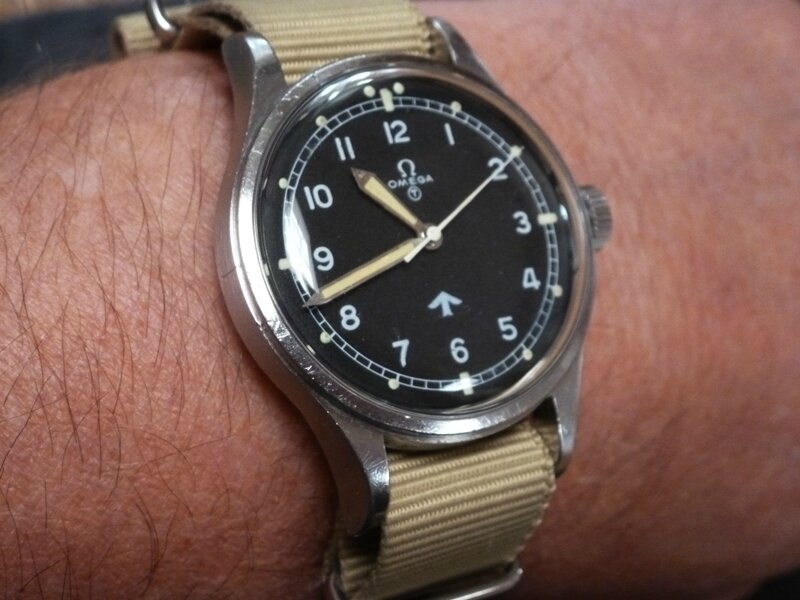 omega fat arrow 53 RAF