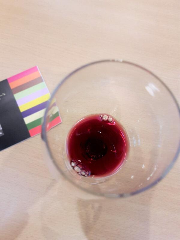chez cathytutu salon du chocolat lyon 2019 atelier chromatique vin chocolat pralus