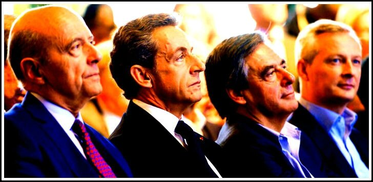 Juppe Fillon Le Maire Sarkozy