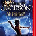 Percy jackson #1 : le voleur de foudre, de rick riordan & lu par benjamin bollen