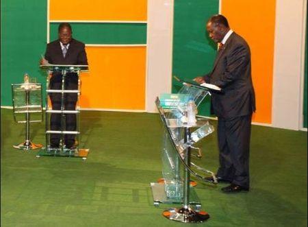 Ouatara_Gbagbo_Debat