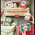 Catalogue automne-hiver + set de tampons à gagner !!!