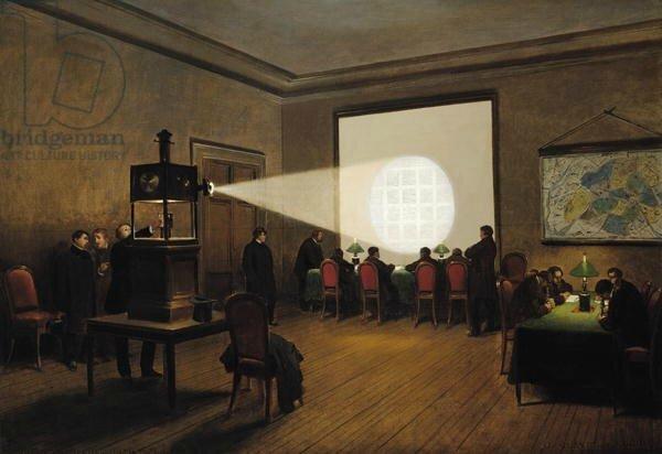 Guiaud et Didier, transmission des dépêches à la télégraphie centrale, novembre 1870
