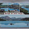 Serre Ponçon - le barrage (datée 1974)