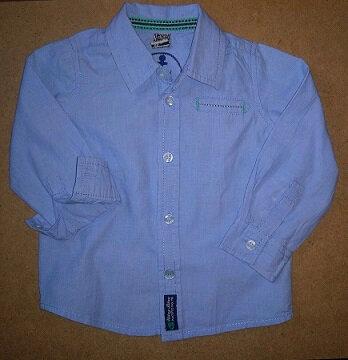 *Chemise pour petit marin de 2 ans