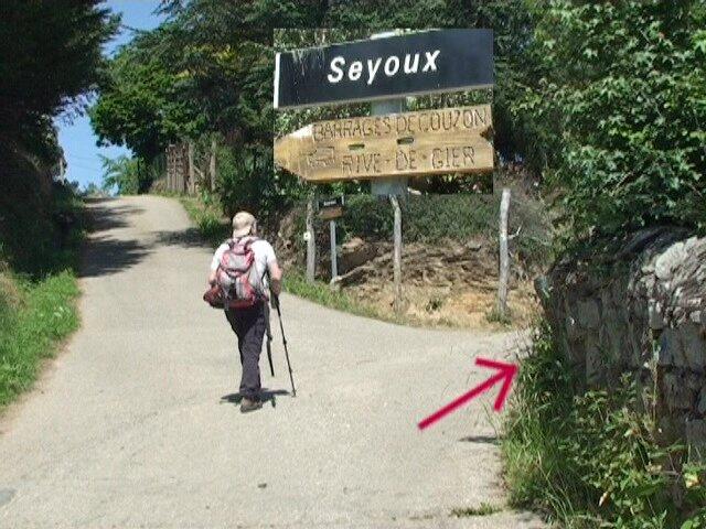 entrée de Seyoux