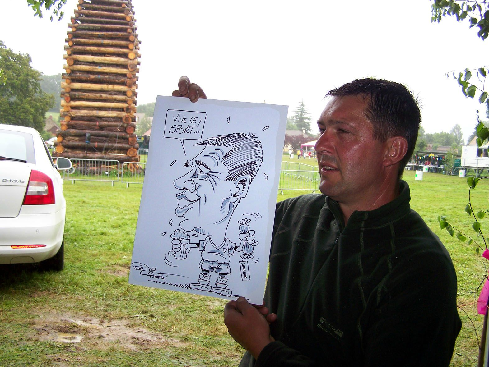 Caricature en direct BOURSIER 6