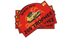 Logo205 Trophée 2013