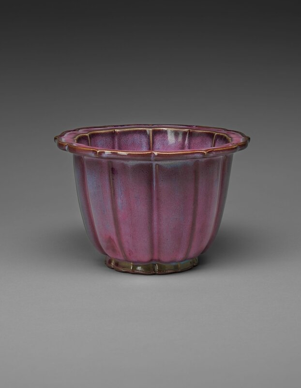 Lobed Flowerpot with Bracketed Foliate Rim, Ming dynasty, 1368-1644, probably 15th century (9)