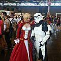 Red Saber (Fate Extra) et un Stormtrooper