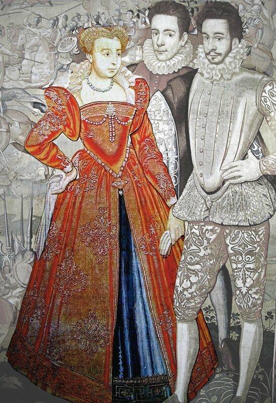 Marguerite et François d'Anjou