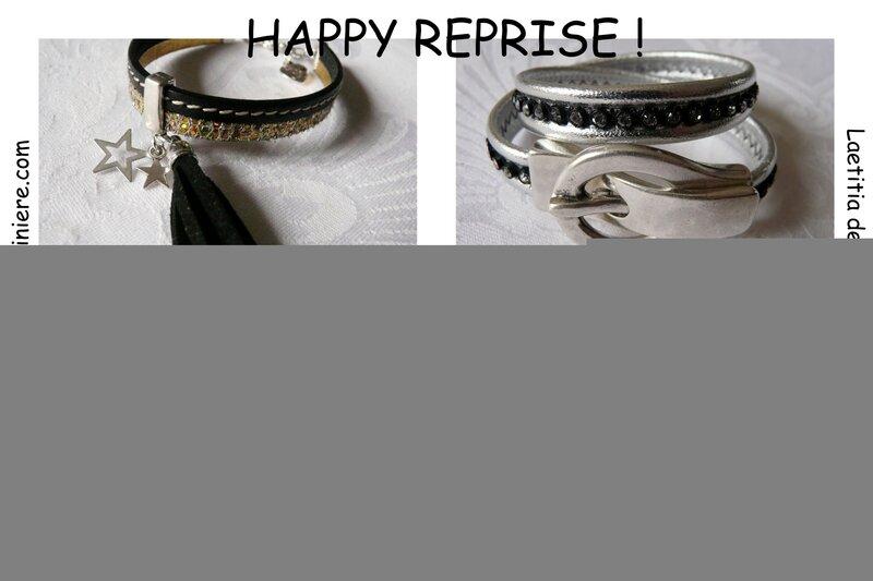 Promo sur les bracelets cuir - janvier 2015