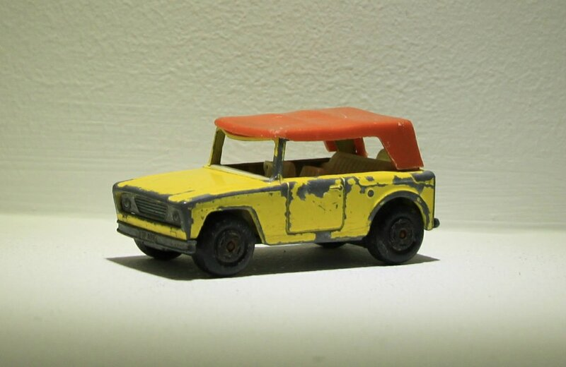 Field car (ref 18) Matchbox
