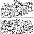 Le déporté dreyfus - symbole même de la machination judiciaire qui se nourrit d'elle-même.