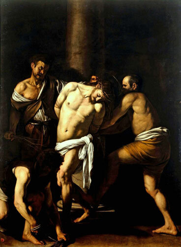 La Flagellation du Christ - Le Caravage