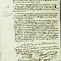 Le 20 décembre 1789 à mamers : perception des aides.