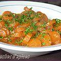Ragoût de carottes au persil