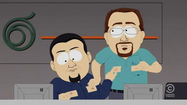 South Park porno Cartoon