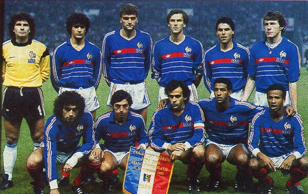 16 novembre 1985 FRANCE YOUGOSLAVIE