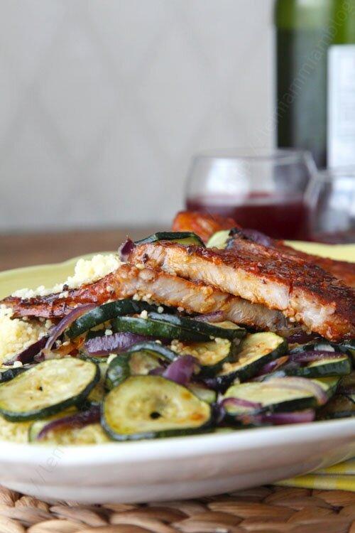 recette cotelettes de porc marinade 0011 LE MIAM MIAM BLOG