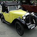 Austin seven swallow sports 2seater open tourer 1931-1932