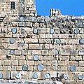 Liban Saïda Le château de Sidon 1227 en janvier 2005 2
