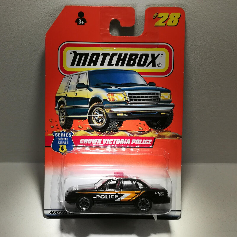 Ford Crown Victoria Police (Matchbox)