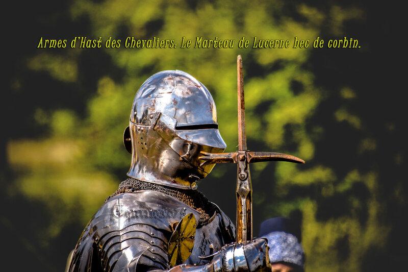 Armes d'Hast des Chevaliers Le Marteau de Lucerne bec de corbin