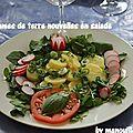 Pommes de terre nouvelles en salade