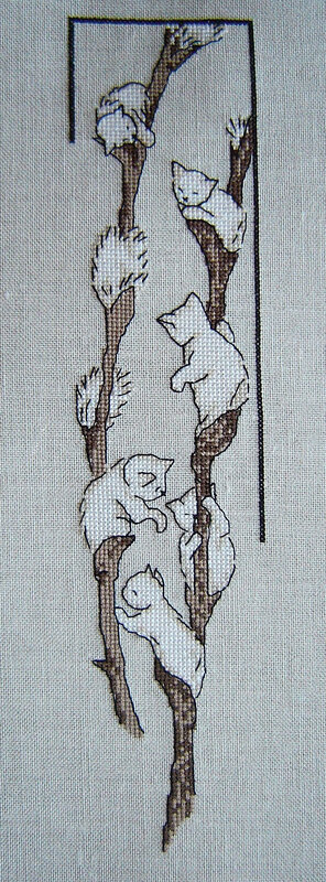 chatons broderie