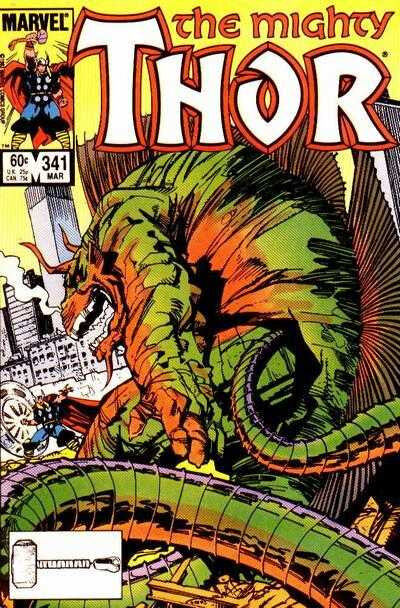 mighty thor 1966 341
