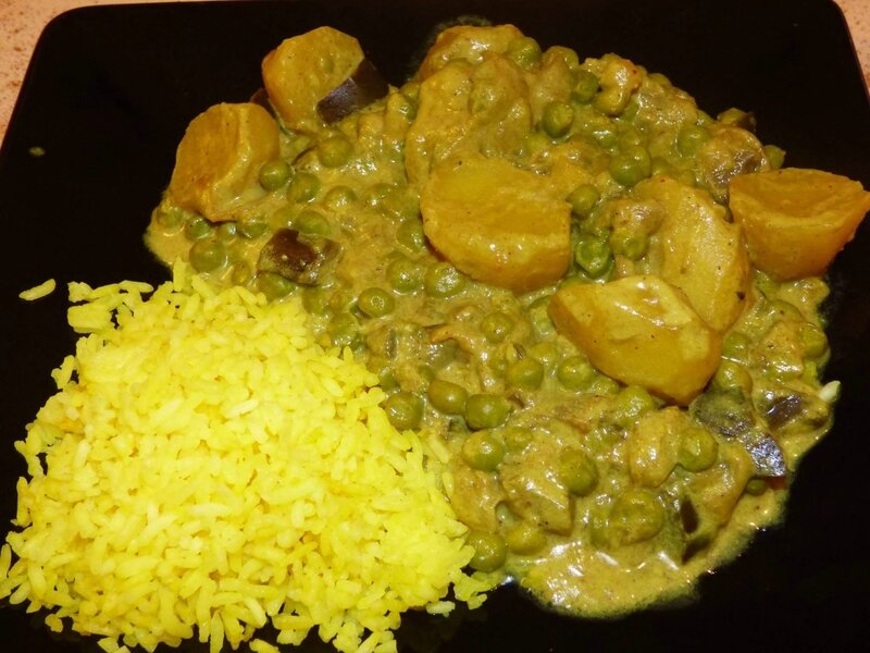 curry coco legumes