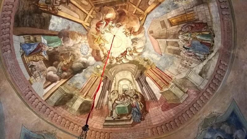 Cordon, église Notre-Dame-de-l'Assomption, intérieur, peinture