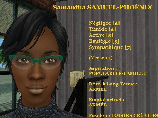 Samantha SAMUEL-PHOENIX