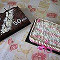 Quelques gâteaux réalisés pour anniversaires....