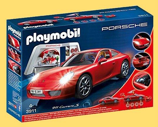 Boîte Playmobil Porsche 911 Carrera 2015 (2)