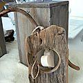 Nuit des anges décoratrice de mariage décoration de table bois flotté nature 022