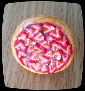 bague tarte fraises