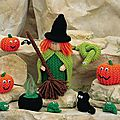 Witch and friends - jean greenhowe